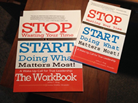Stop Wasting Time book and workbook